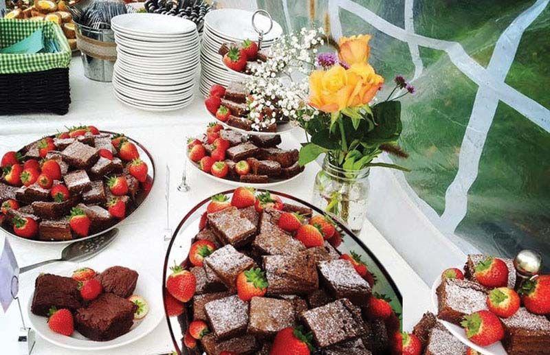 Buffet Menu Desert Selection - Trios Catering
