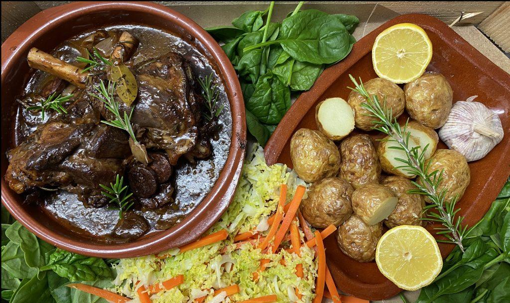 Dine in at Home Menus for Norfolk - Lamb Shanks for 2 – £25.95