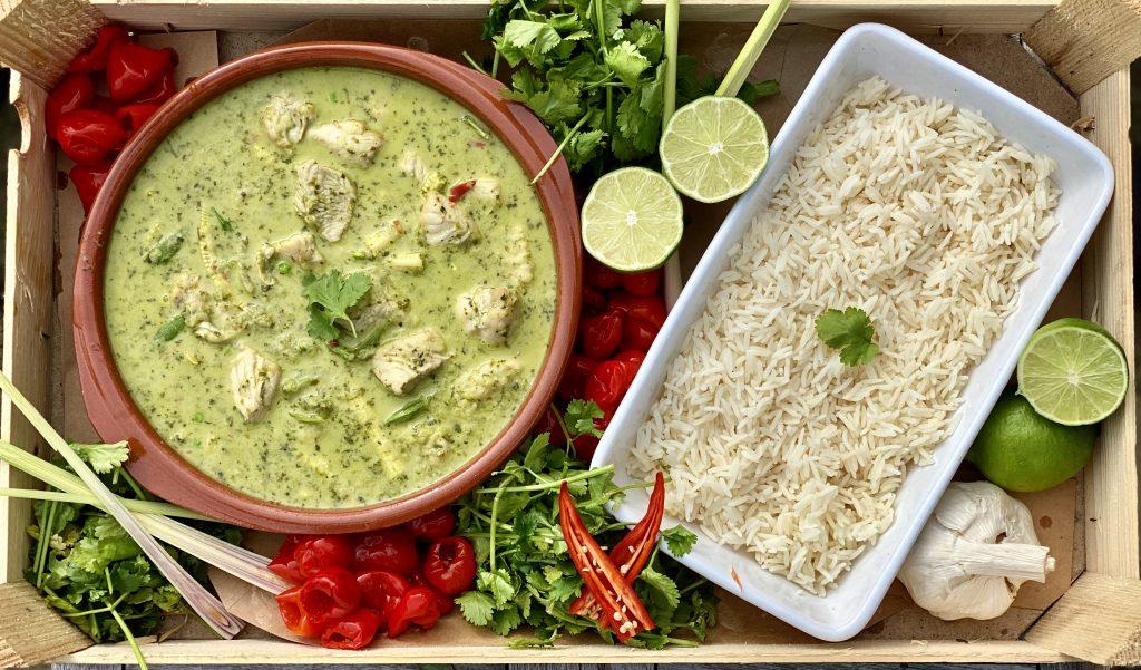 Trios Dine at Home- Thai Chicken Curry