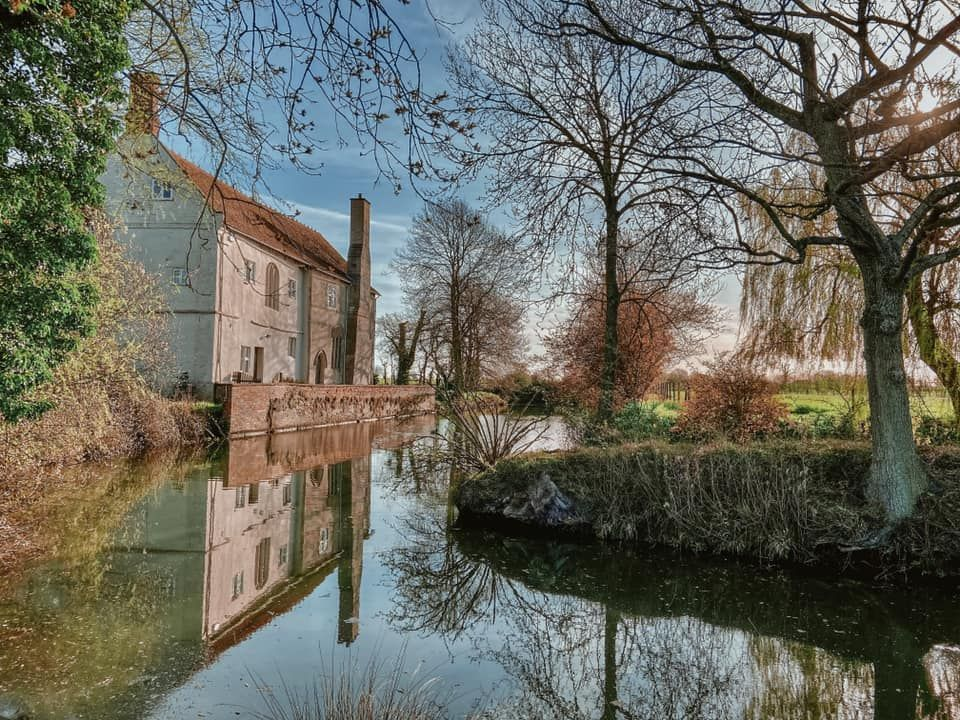 The Moat at St. Peter's Hall