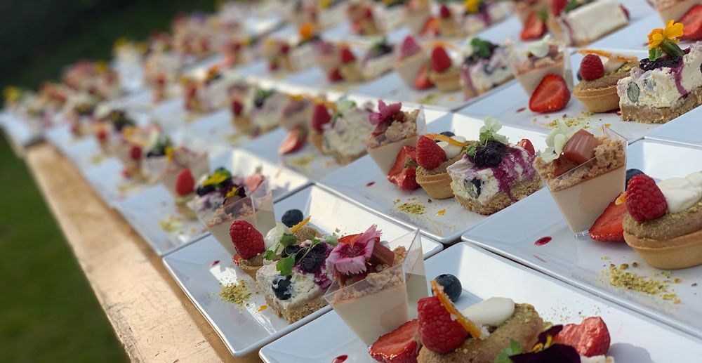 Catering for-Weddings-in-Norfolk-Suffolk-Trios-Catering-Wedding-Venue-Desserts