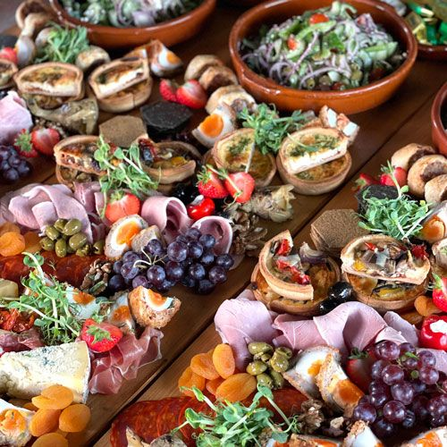 Catering for-Weddings-in-Norfolk-Suffolk-Trios-Catering-amazing-grazing-board