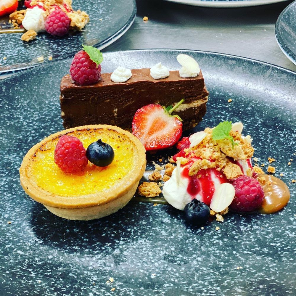 St-Peters-Hall-Restuarant--Trios-Catering-dessert-tart
